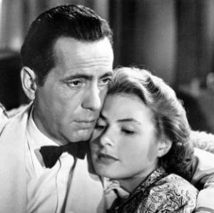 (Humphrey Bogart, Ingrid Bergman photo from